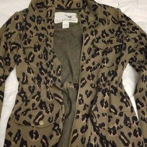 Anthropologie Tabitha Green LeopardJacket